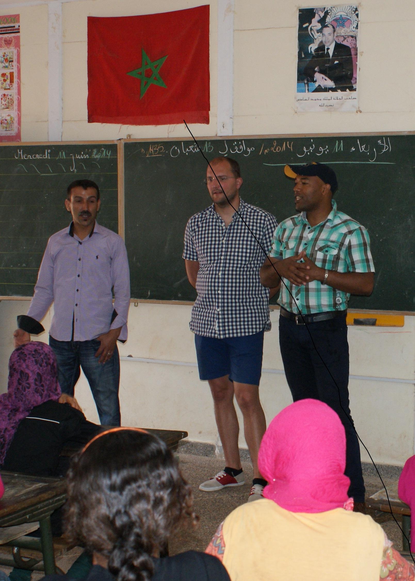 Dynam'eau Formation à la préservation des ressources en eau et à l'hygiène Maroc