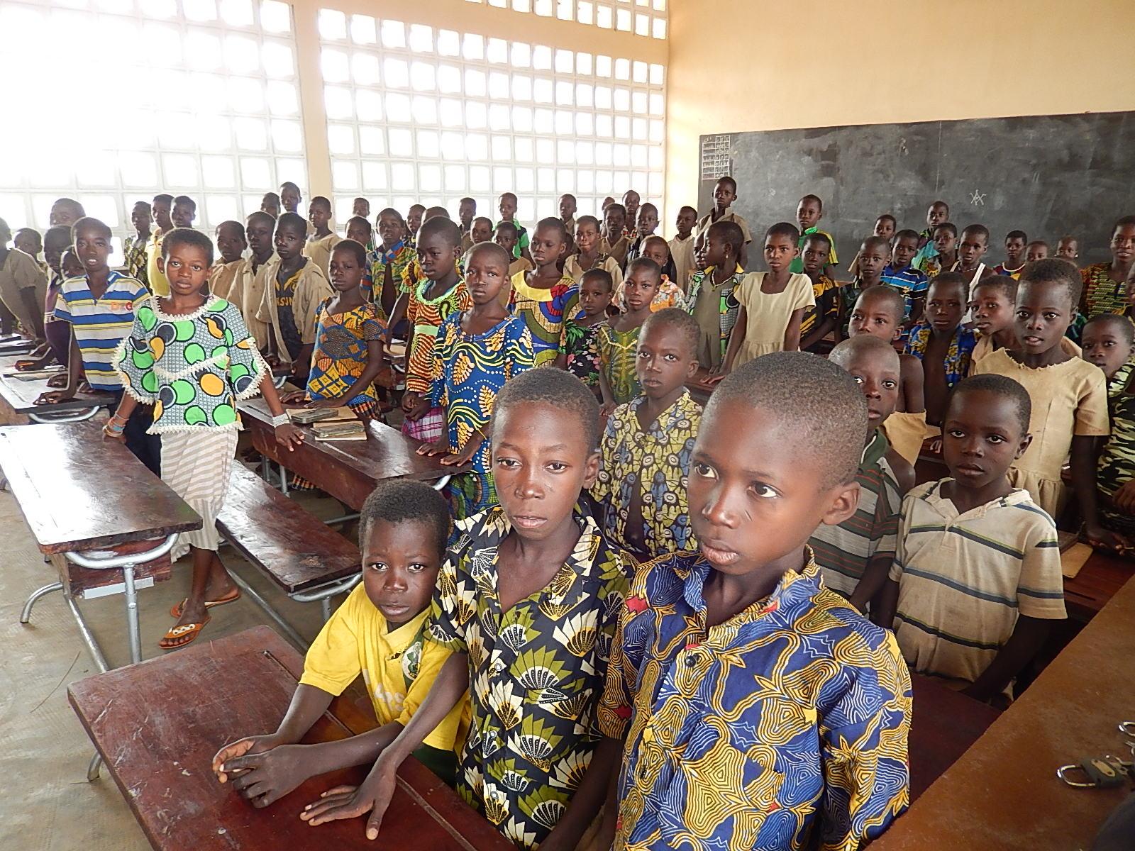 Dynam'eau élèves Togo