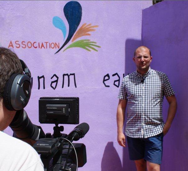 Maxime Ghesquiere interview pour Dynam'eau