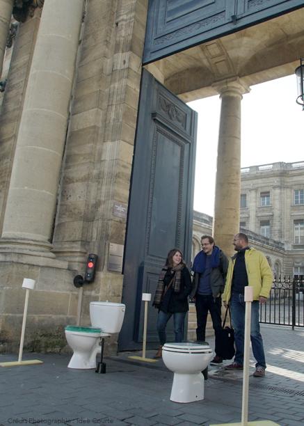 Journée Mondiale Toilette WC Bordeaux Dynam'eau