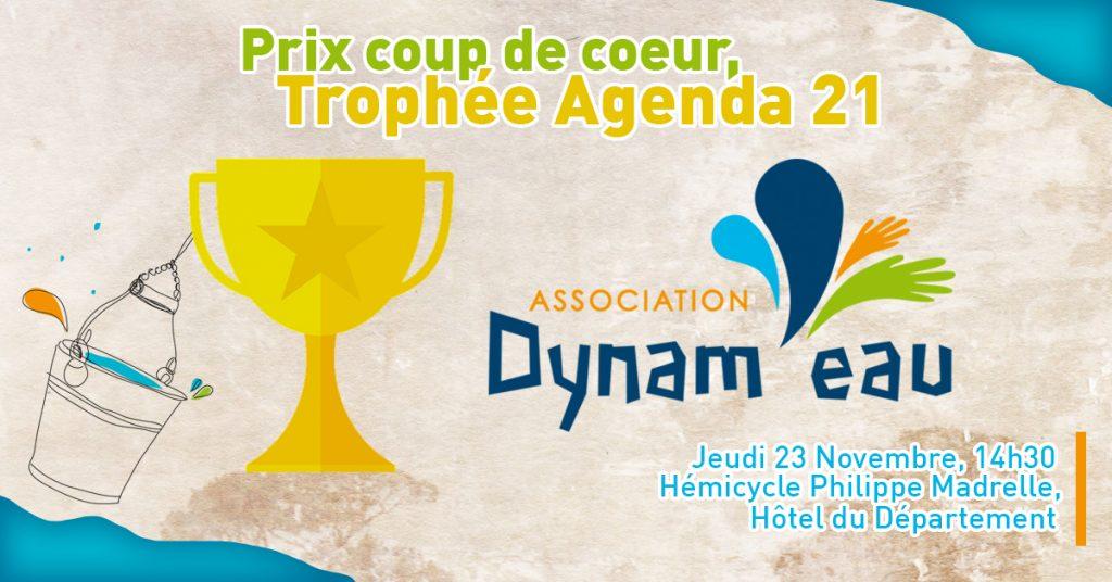 Prix du département agenda 21 gironde dynam'eau