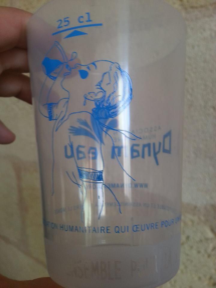 Verre dynam'eau fille logo